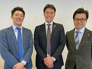 左から修了生 米山氏、中山氏、遠藤氏